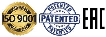 ISO EAK Patent medals