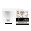 Лампа Gauss LED Elementary MR16 GU5.3 5.5W 430lm 3000К