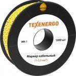 """Маркер МК1-2,5 мм символ """"1"""" 1000шт/рол."""