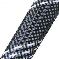 Кабельная оплетка FRH-008 (8,0мм.) полиэстеровая черно-белая