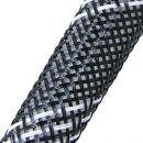 Эластичная кабельная оплетка FRH-016 (16,0мм.) чёрно-белая